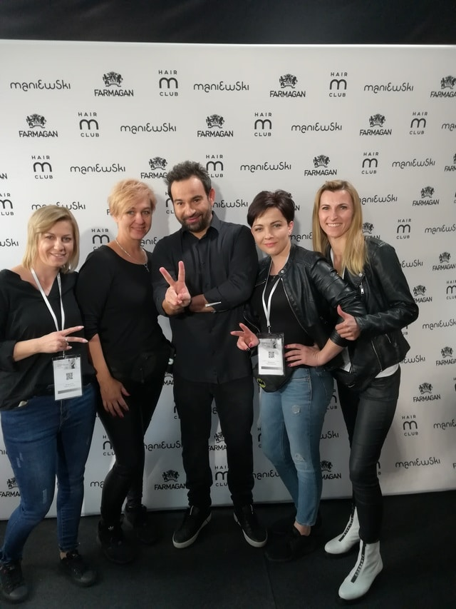 Akademia fryzjerska Biłgoraj – udział w targach.