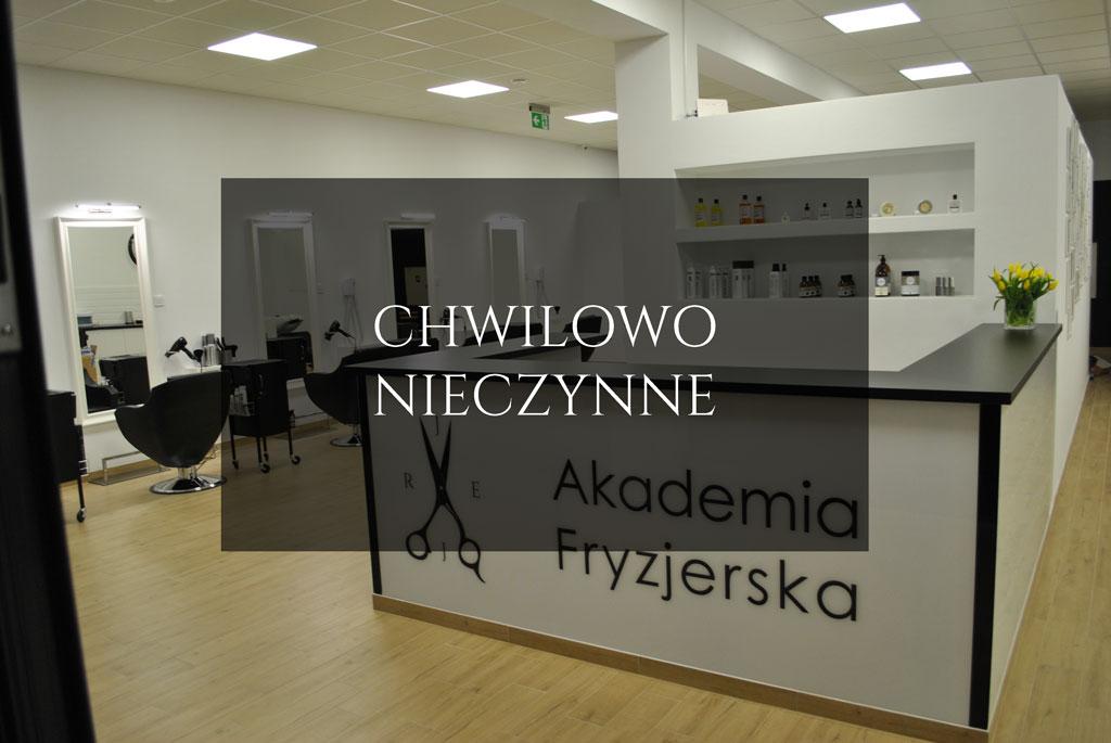 Akademia fryzjerska – chwilowe zamknięcie salonu fryzjerskiego