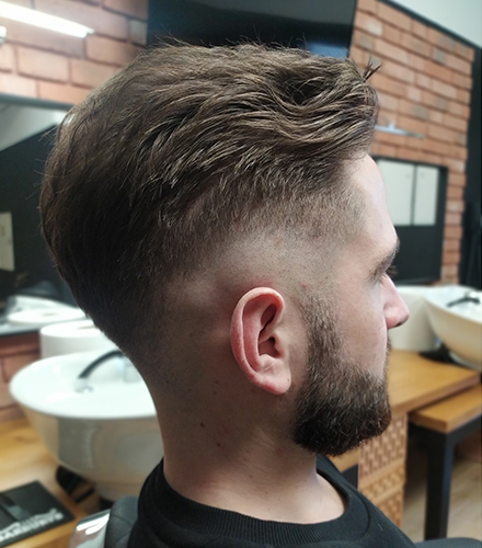 Salon fryzjerski Biłgoraj Akademia Fryzjerska strzyżenie męskie