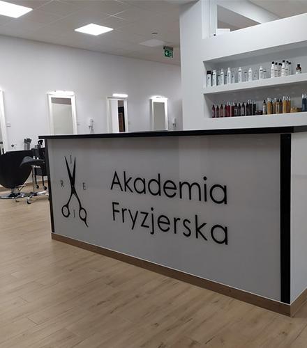 Salon fryzjerski Biłgoraj Akademia Fryzjerska nasz salon